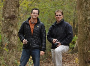 Evan Hirsche and Sam Serebin, co-founders of Discover Nature Apps. Photo courtesy of Evan Hirsche.